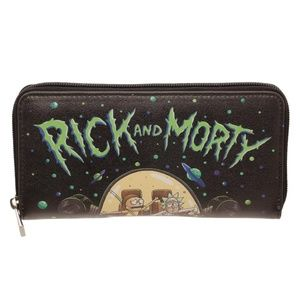 Rick and Morty Zip Around Women's Wallet Official